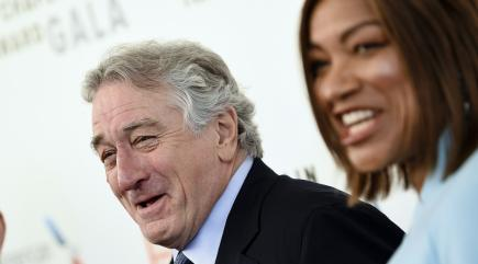 Robert De Niro Calls 'Bullsh-' on Trump During Lifetime Award Speech
