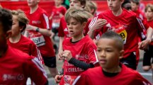 Romeo Beckham makes parents David and Victoria proud after completing London Mini Marathon