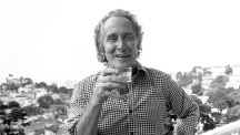 Ronnie Biggs pictured in Rio in 1980.