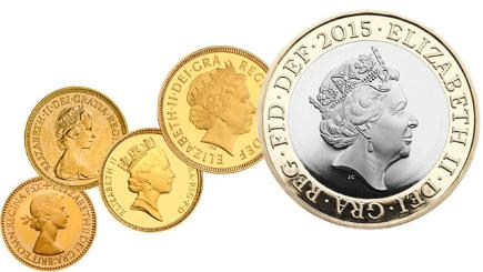 Royal Mint unveils fifth Queen coin portrait