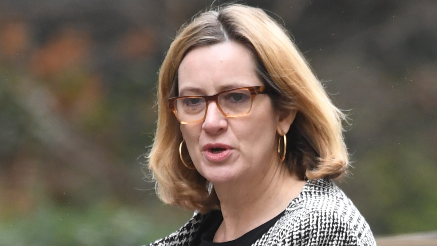 Amber Rudd blasted over cops cut claim after London murder epidemic