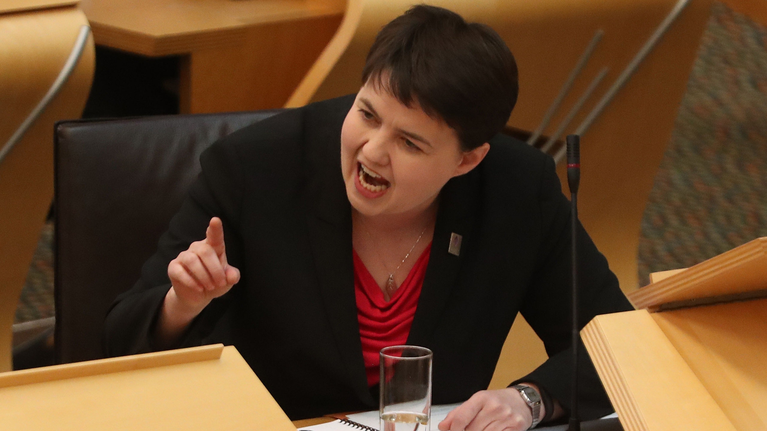 Ruth Davidson demands review of home leave for killers