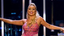 Saffron Barker on Strictly Come Dancing