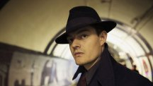 Sam Riley in BBC One's SS-GB as Douglas Archer