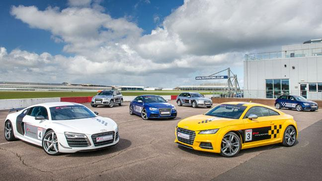 Sample Life In The Fast Lane With Audi At Silverstone