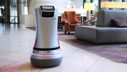 Could robots replace human staff in hotels?