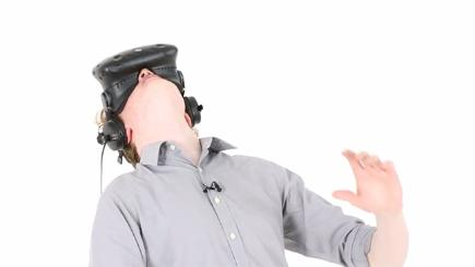 Watch the British public test a VR rollercoaster