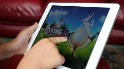 Scientists have created a tablet game that they say boosts processing skills in the elderly
