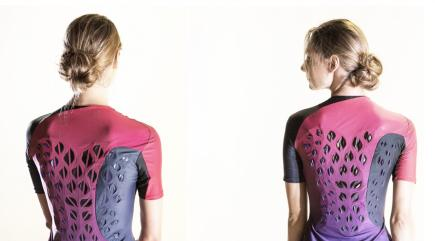 See the gymwear powered by bacteria