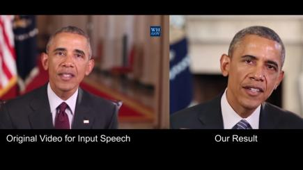 AI-powered lip sync puts fake words into Obama's mouth