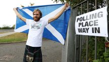 Scotland turnout hits record high