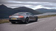 Screengrab of the new Aston Martin Vanquish V12