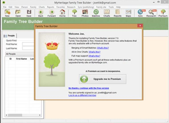 create your family tree for free bt