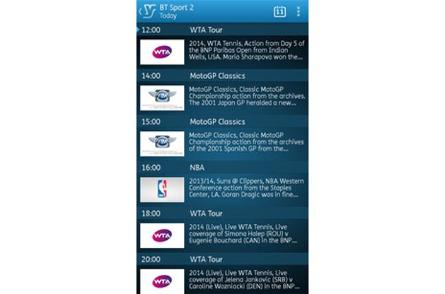 How to use the YouView app - BT