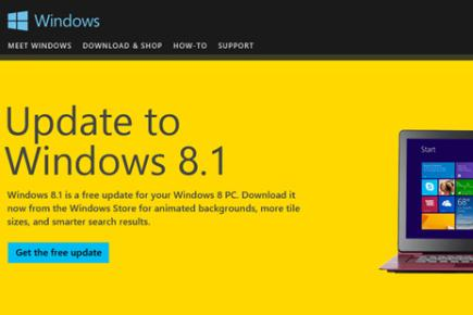 Step 9: Upgrade to Windows 8.1