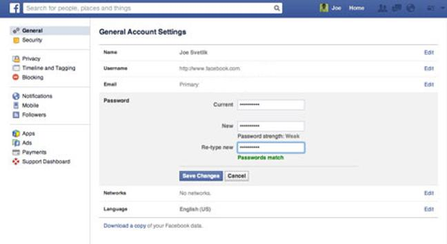 how to change pag type on facebook