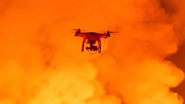 Το drone της κολάσεως!