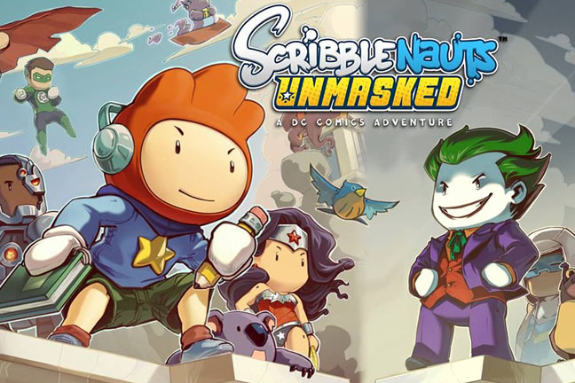 Scribblenauts Unmasked: A DC Comics Adventure preview | BT