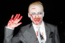 And we thought Simon Pegg's character survived the zombies in Shaun of the Dead...