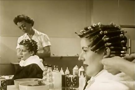secrets from a 1950s beauty salon video bt