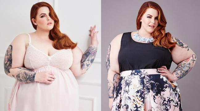 See size 22 model Tess Holliday rocking it in Yours Clothing