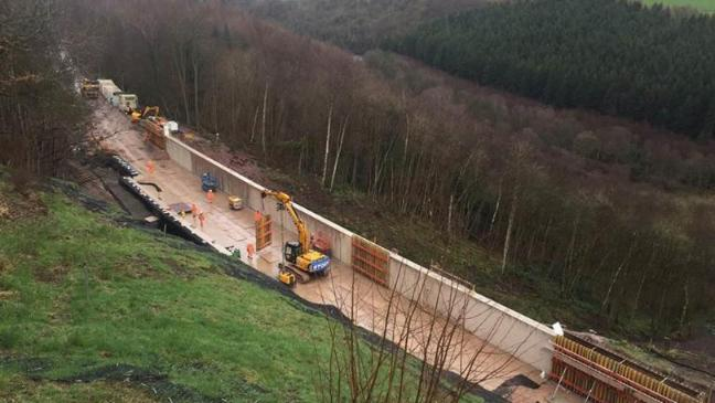 Settle-Carlisle line reopens after Network Rail's most
