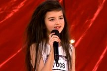 Seven-year-old Angelina Jordan Astar sings Billie Holiday's Gloomy Sunday on Norwegian talent show