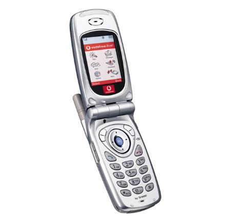 motorola flip phone 2007. this was the one phone to rule them all in early noughties. while most of us were playing with mono ringtones and single colour displays, sharp gx10 motorola flip 2007