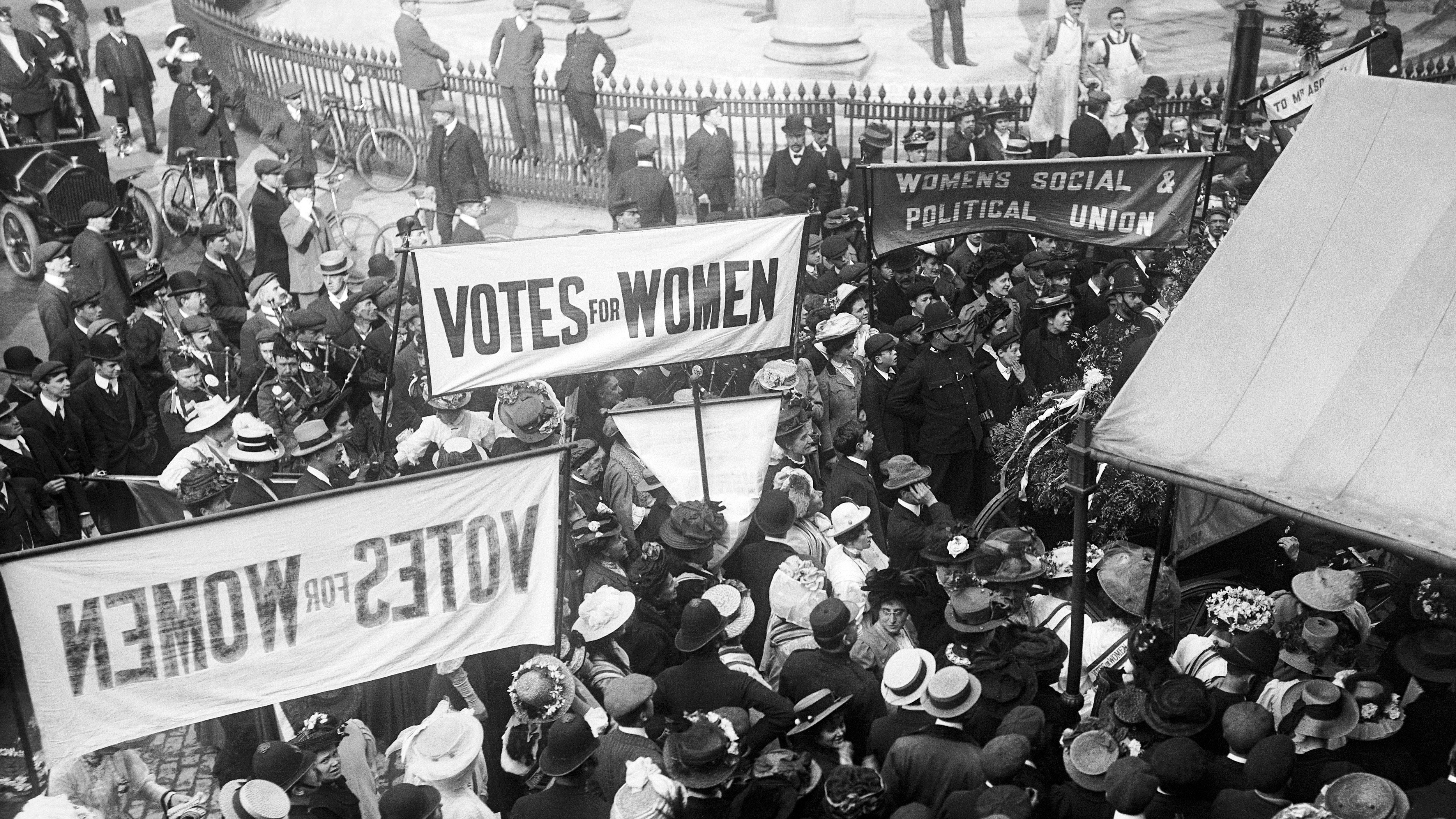 Sites of suffragette protest and sabotage recognised in ...