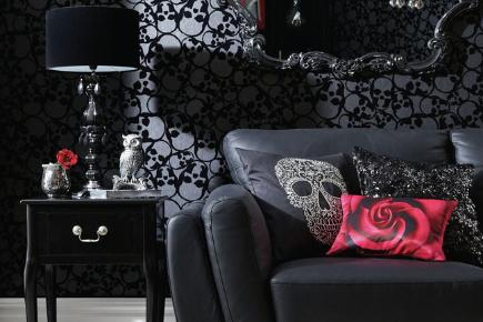 Gothic wallpaper for bedrooms