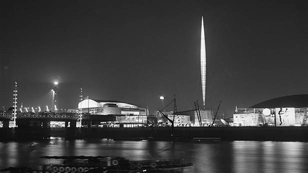 At 300 metres high, the futuristic beacon Skylon was the icon of the 1951 Festival of Britain, but its current whereabouts remain a mystery.