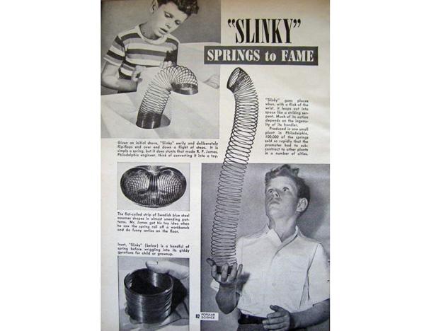 Slinky Advert 1946