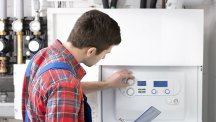 Smart boiler calls the engineer for you