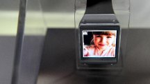 "A Samsung Galaxy Gear smartwatch, as the firm said there was a ""smart deficit"" in Britain"