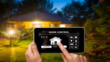 Smart homes stock hero