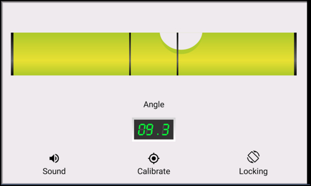 Spirit level - Bubble app