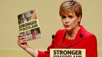 Nicola Sturgeon raises prospect of a SNP-Corbyn 'progressive alliance' in Westminster