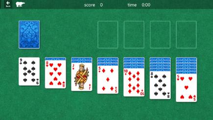 Solitaire in Windows 10