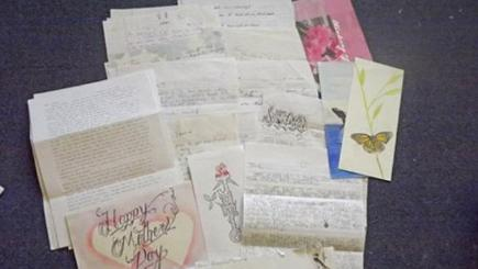 Some of housewife Jamie Jones' letters from American prisoners.