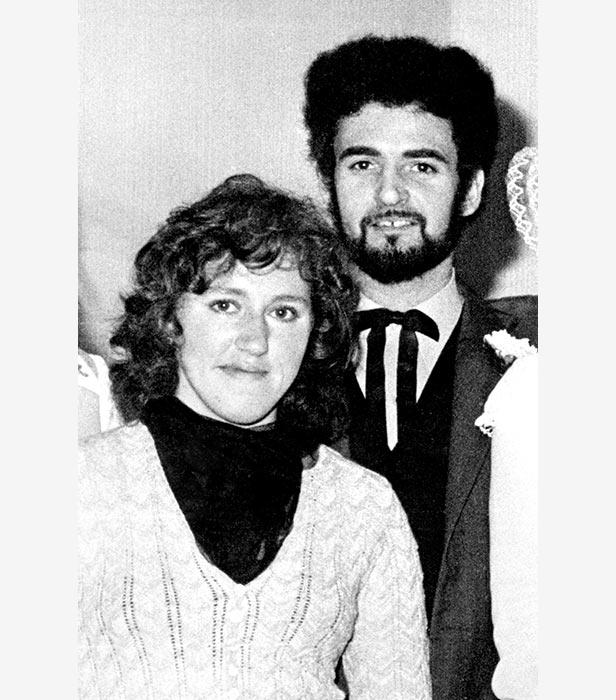Sonia Sutcliffe with husband Peter, the Yorkshire Ripper