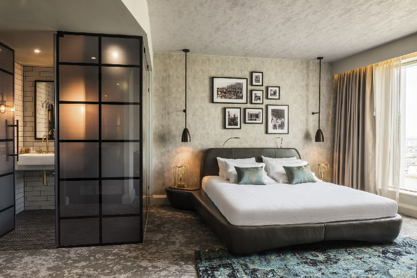 Sophisticated bedroom