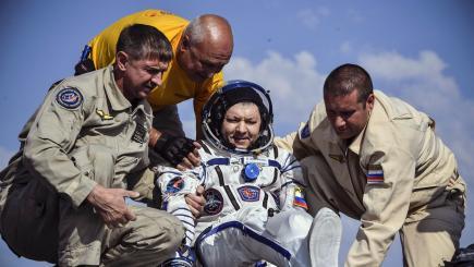 international space station astronauts return to earth - photo #45