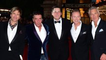 Spandau Ballet attending the premiere of Soul Boys of the Western World, Spandau Ballet: The Film at the Royal Albert Hall, London.