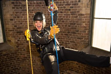 Sport and TV stars to abseil down BT Tower