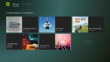 The interface of the new Playstation Music app, which is powered by Spotify (Spotify/PA)