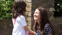 Stacey Branning (Lacey Turner) has to make amends with her daughter Lily (Anne Garvey) in EastEnders