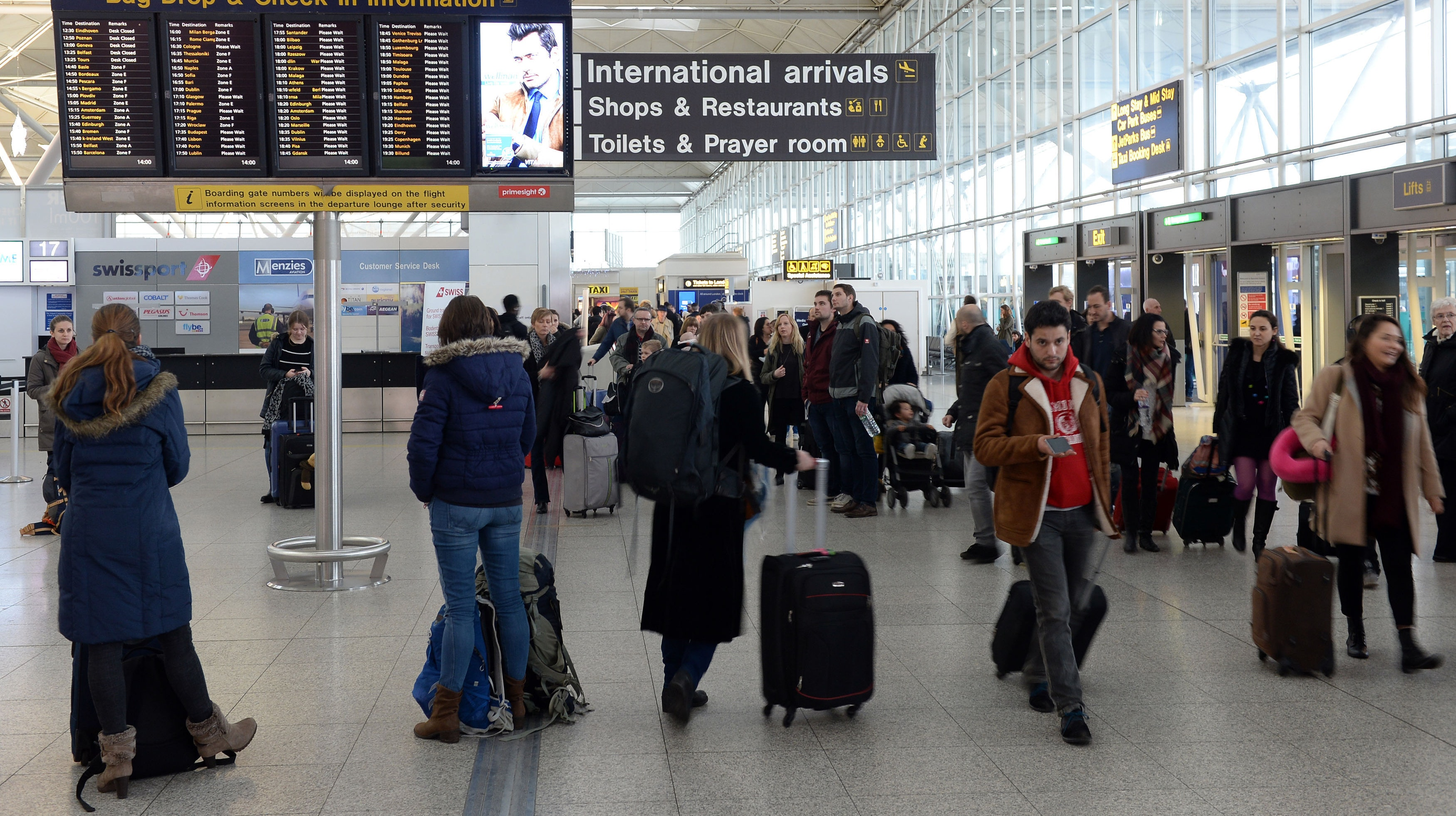 Stansted Airport Plan for 43 Million Passengers
