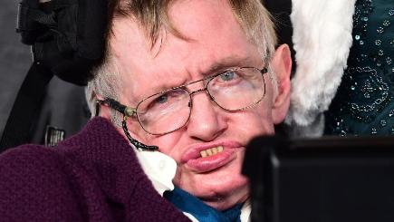 Professor Stephen Hawking helped launch the new medal