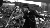 Steptoe and Son in scrapyard
