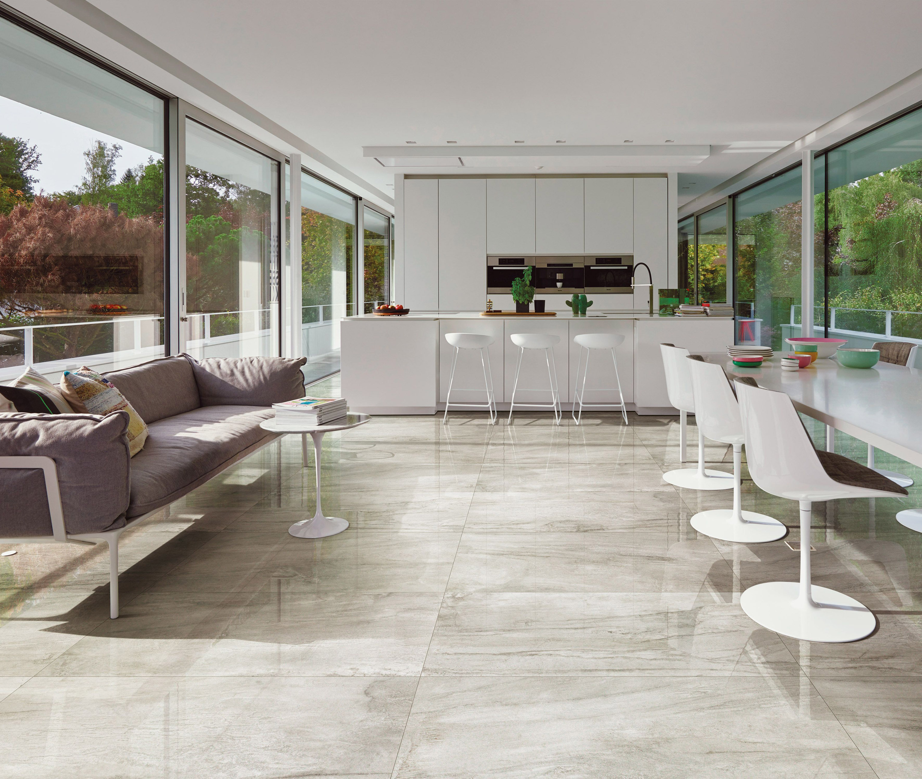 Hard Wearing Porcelain And Stone Effect Tiles Can Withstand The Daily Trials Of Family